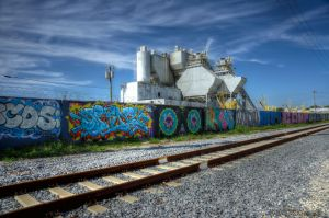 Wynwood Art  District Concrete Plant