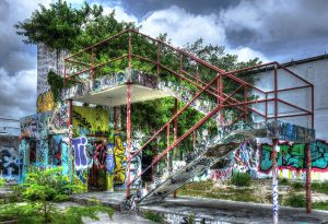 Miami Art District Stairs